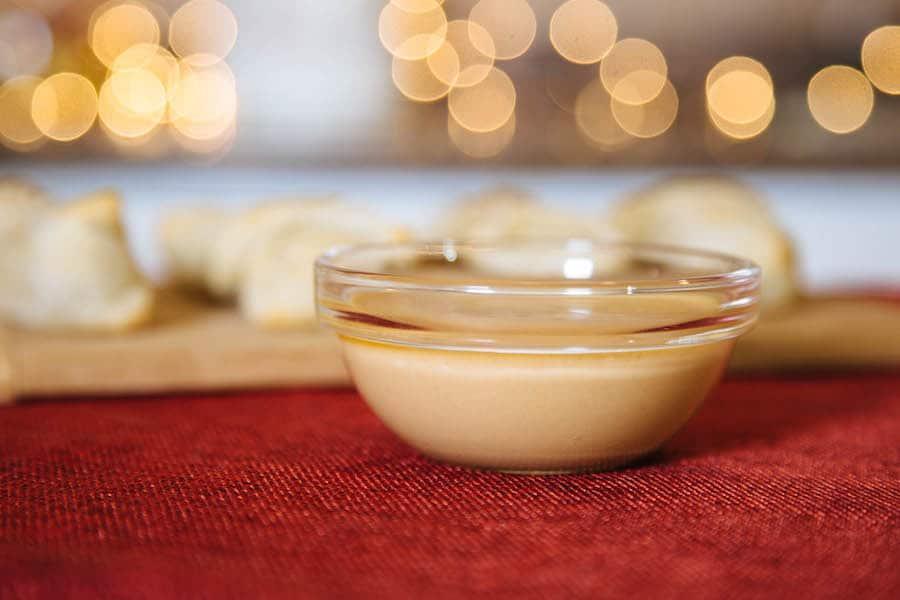 Vegan Honey mustard dipping sauce