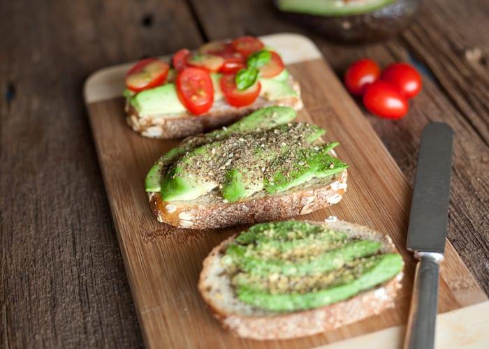 Easy vegan recipe avocado