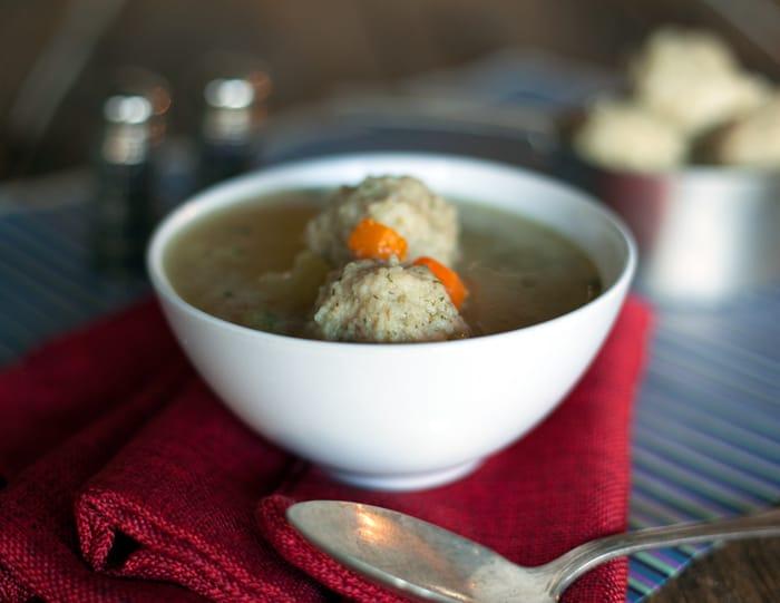 matzah ball soup recipe vegan