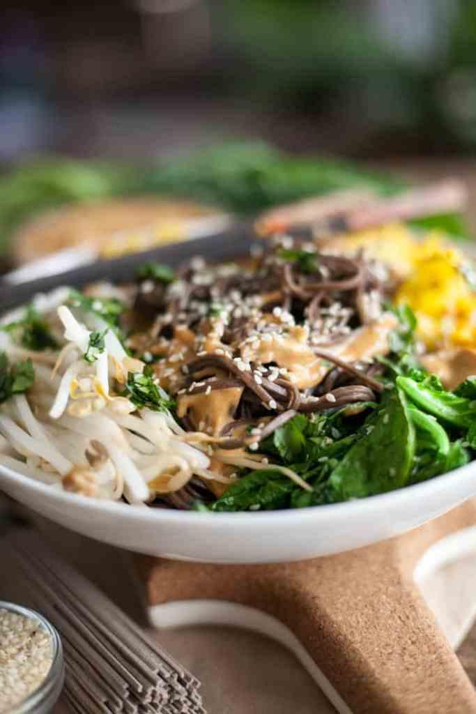 Vegan Thai Peanut Noodles Recipe VEGAN RECIPE