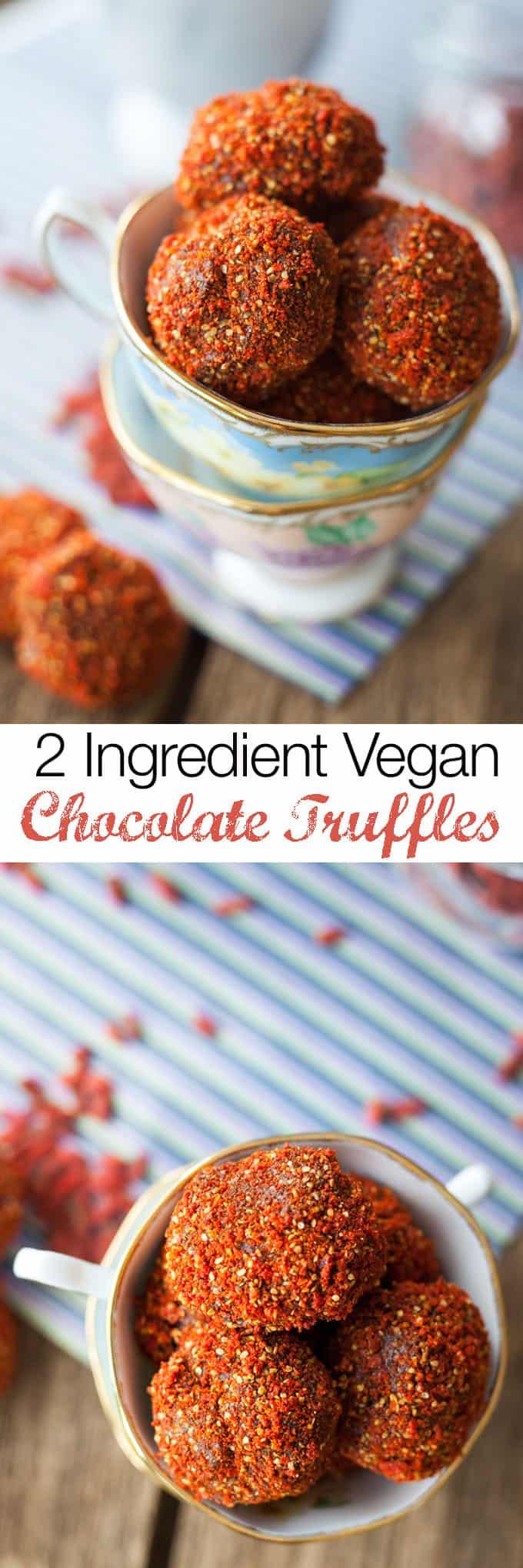 Vegan Chocolate Truffles recipes