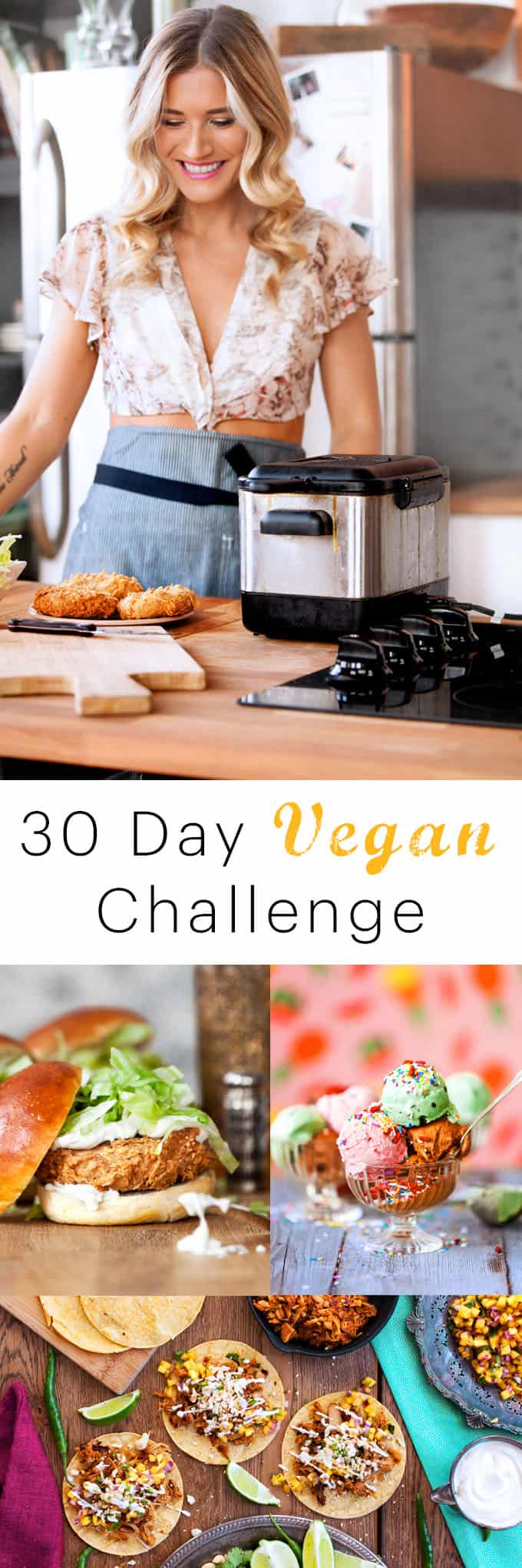 30 days vegan challenge