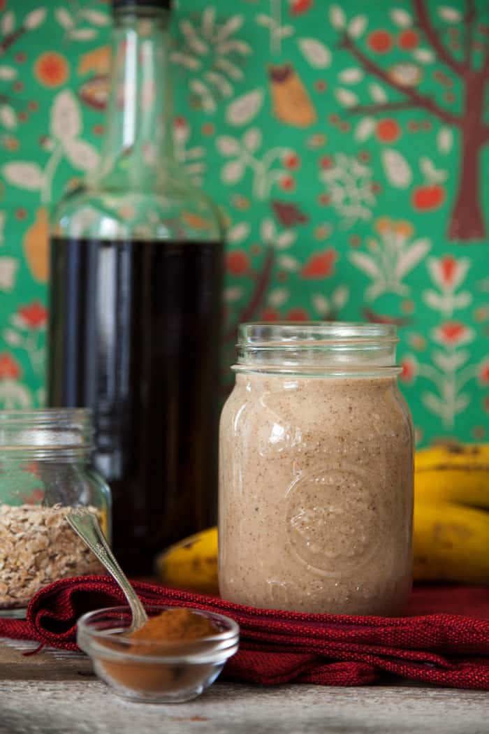 Vegan cinnabon smoothie recipe