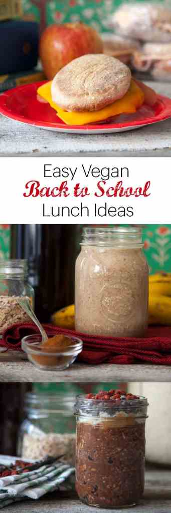 Back to School Easy Vegan Breakfast Ideas