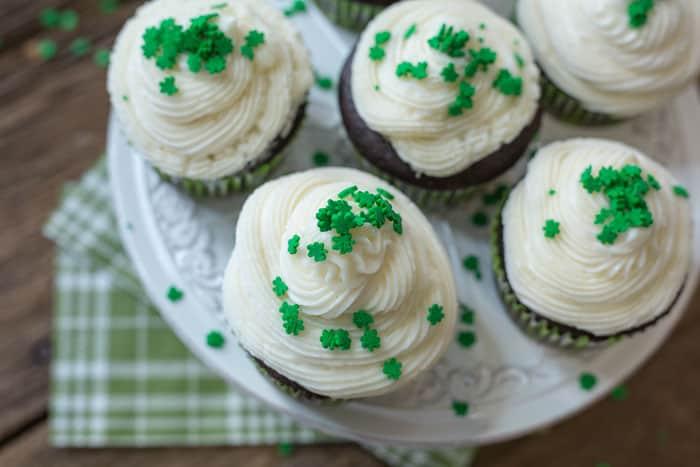 Guinness Cupcakes w/ Bailey's Buttercream   VEGAN Cupcake Recipe