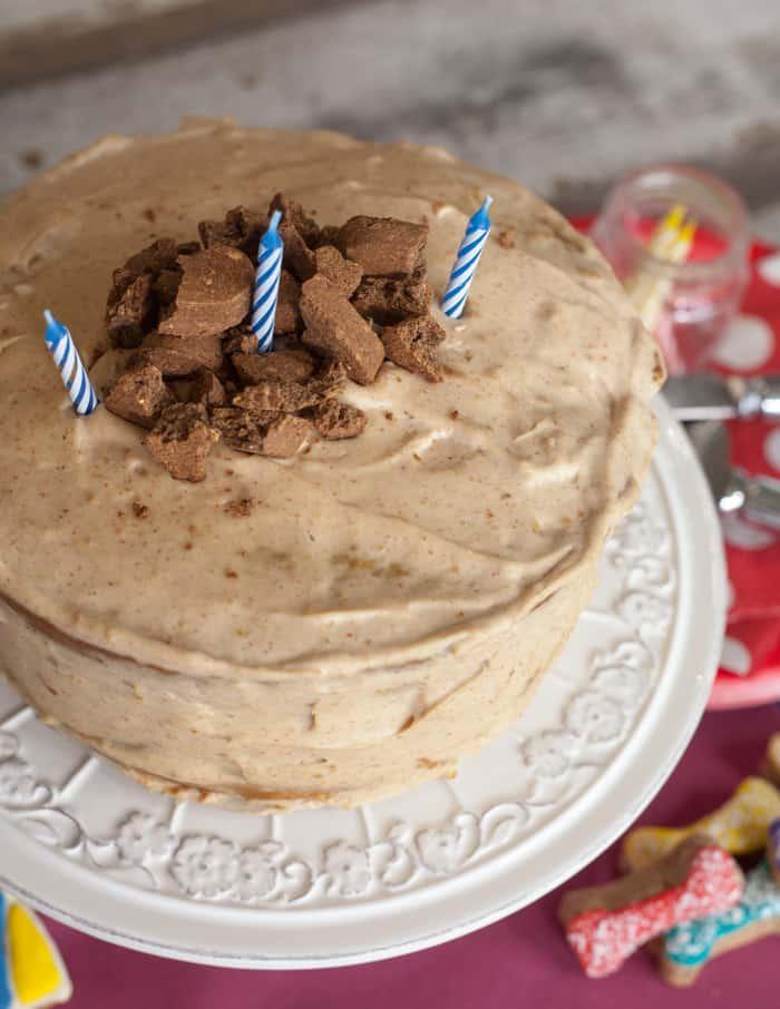 Dog Friendly Birthday Cake Vegan Dog Birthday Cake