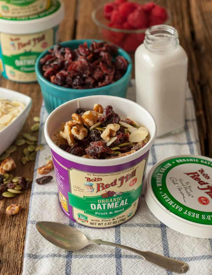 oatmeal to go cups