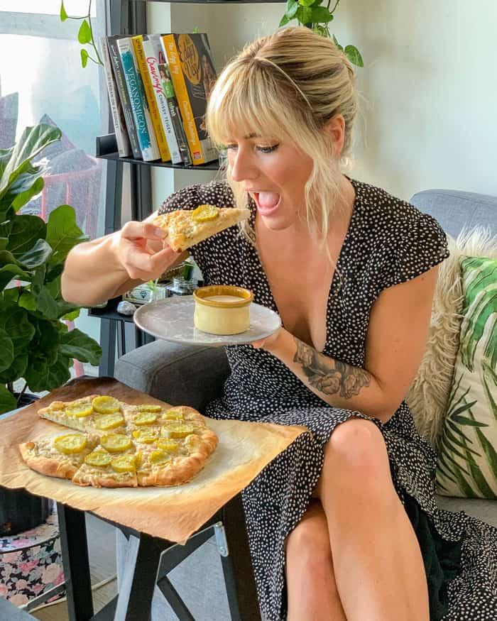 VEGAN Dill Pickle Pizza Recipe