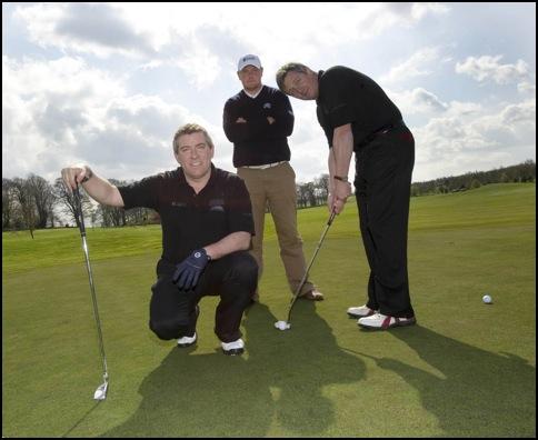 Amateur corporate golf