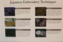Japanese Embroidery Techniques