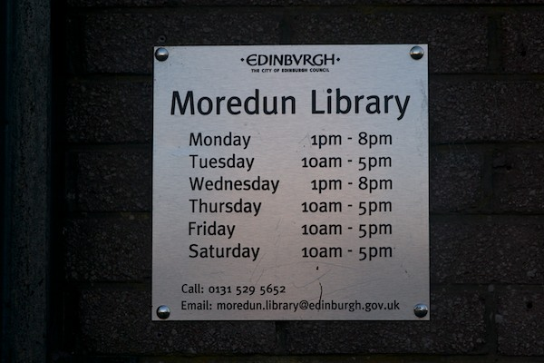Moredun Library 1