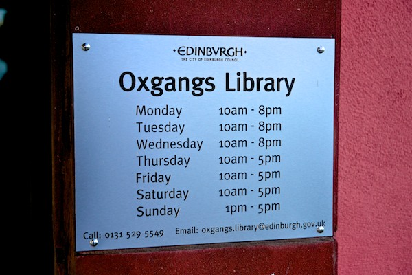 Oxgangs Library 7