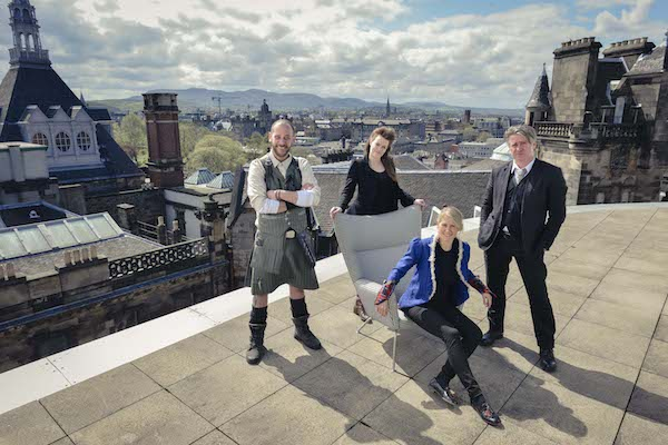 IMAGE 1 - Hotel Missoni Edinburgh crowned as G&V Royal Mile Hotel