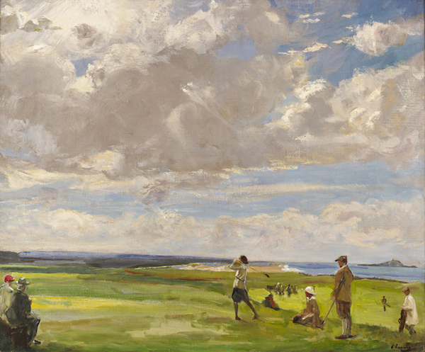 Lavery_North Berwick art of golf - resized for web
