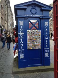 TER Royal Mile top of Mound Police Box - 2