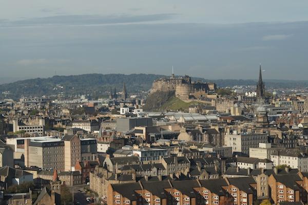TER Edinburgh Castle from Arthur's Seat 2