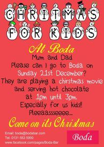 boda children's christmas party 2014