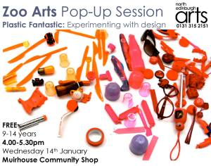zoo arts pop up session 14th jan 2015
