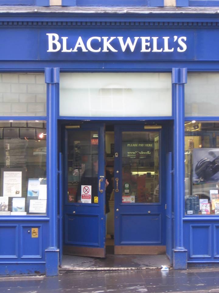 blackwell's front door