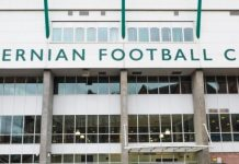 Easter Road Stadium, Edinburgh, home of Hibernian FC