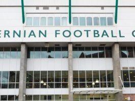 Easter Road Stadium, Edinburgh, home of Hibernian FC