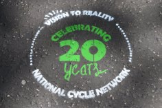 sustrans 20 years of cycling network