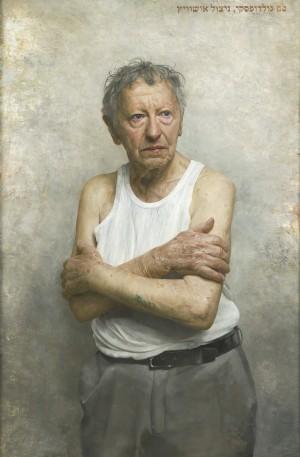 portrait of sam goldofsky - BP Portrait Awards 2015