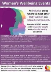 LGBT women poster