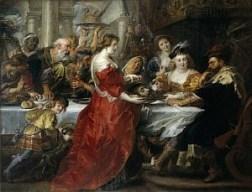 Rubens' The Feast of Herod