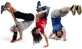 The State breakdancing