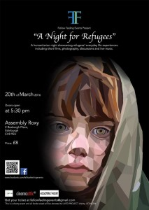 a night for refugees poster