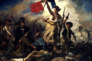 La Liberte guidant le people - Eugene Delacroix