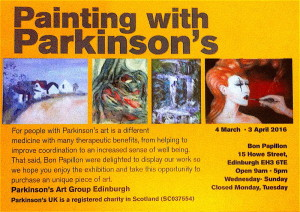 painting with parkinson's