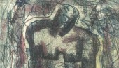 William McCance: Improvised Seated Figure (part of work)