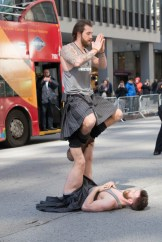 The Kilted Yogis wowed Manhattan