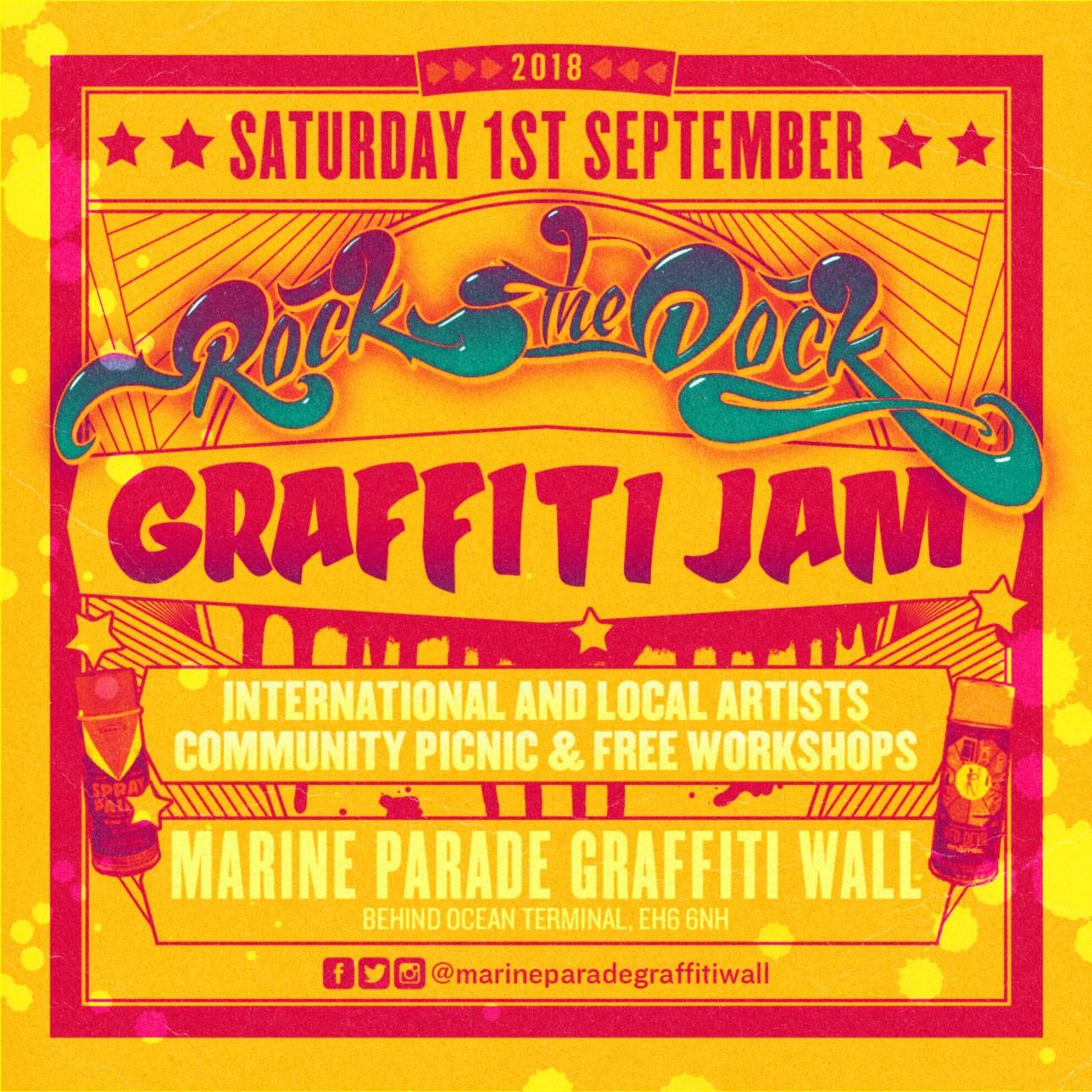 Rock the Dock Graffiti Jam this weekend   The Edinburgh Reporter