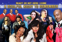 The starts of the show A Soulful Night to Remember which will be performed at the Edinburgh Playhouse next March.