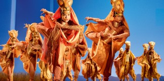 Image from the Disney production of The Lion King which is on at the Edinburgh Playhouse next December.