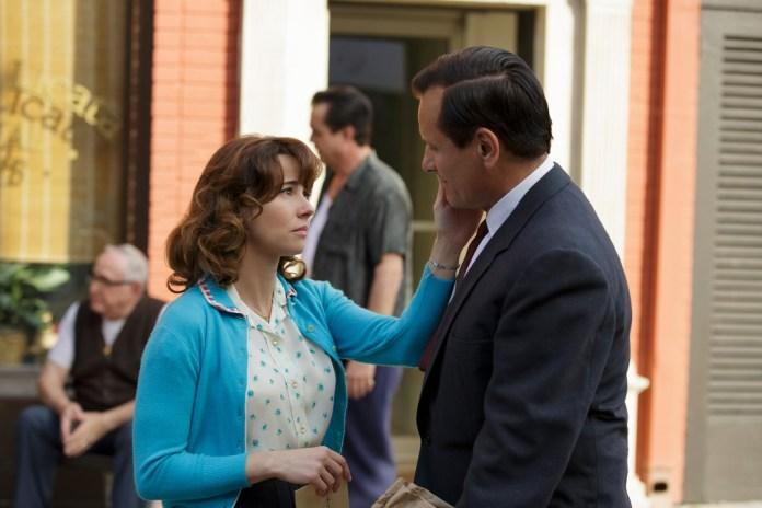 Actors in character in the film