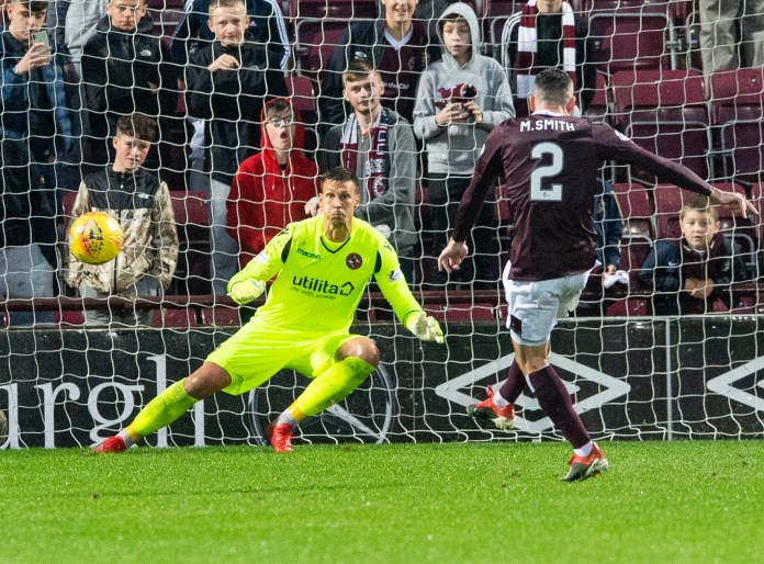Scottish League Cup - Hearts v Dundee Utd.  Tynecastle Stadium, Edinburgh, Midlothian, Scotland.  12,07, 2019. Pic shows: during the first half as Hearts play host to Dundee Utd in the group phase of the Scottish League Cup.