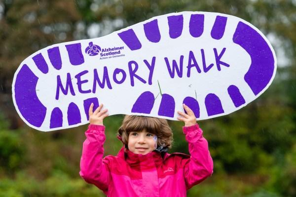 Alzheimer Scotland Memory Walk raises funds for dementia