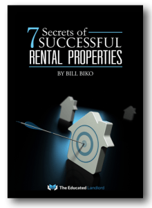 7 Secrets of successful Rental properties - new RE investor information