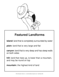 Results For Landforms Guest