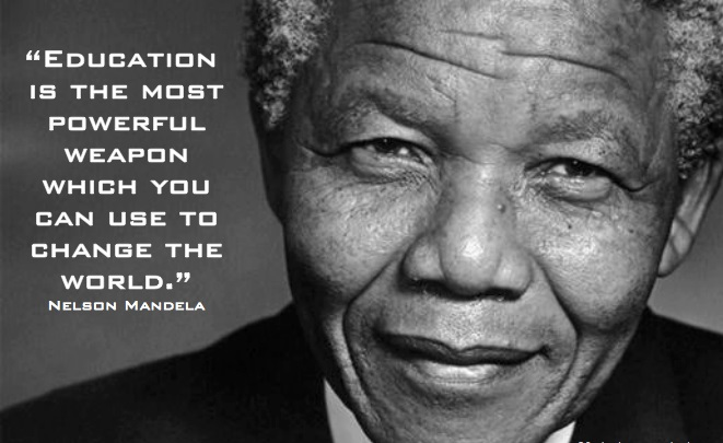 Image result for education quote mandela