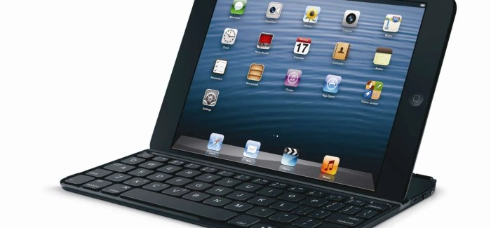 Logitech Introduces Award-Winning Ultrathin Keyboard Design for the iPad mini