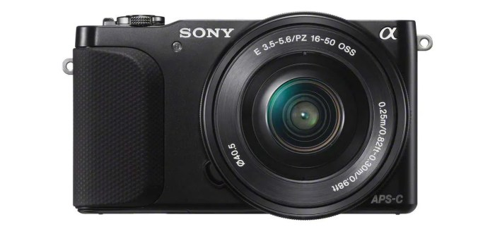 New NEX-3N by Sony puts pro-quality images in everyone's reach