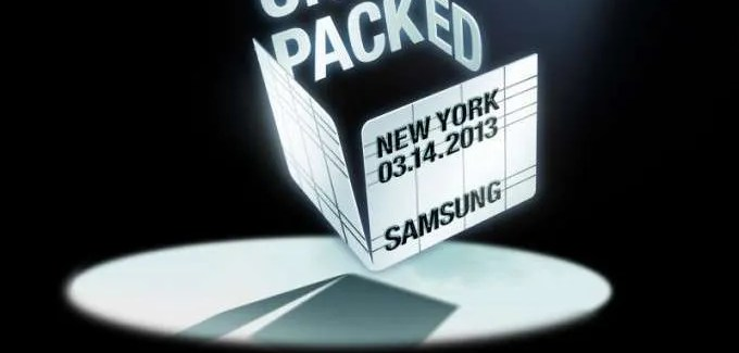 Samsung to host Galaxy S4 launch event on March 14th