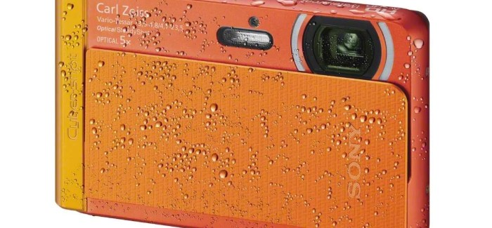 Capture all the action with three new Cyber-shot cameras from Sony