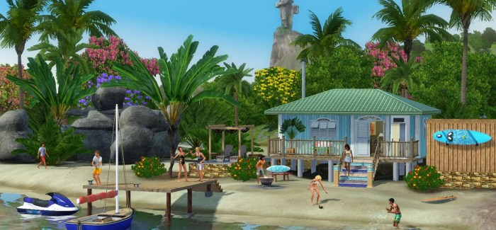 Competition Time – Win a copy of The Sims 3 Island Paradise