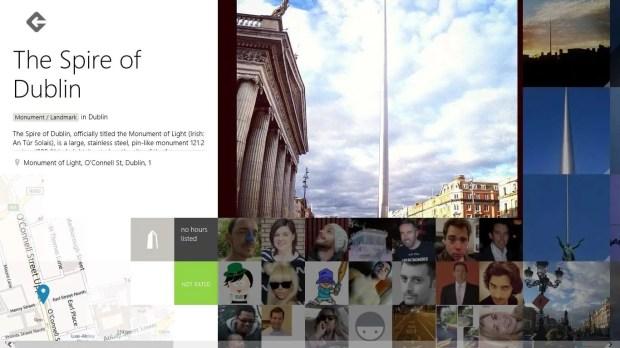 Foursquare Windows 8 Spire